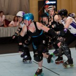 Wheels of Justice vs. Liberty Belles by Skippy Steve