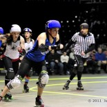 Cincinnati Rollergirls Silent Lambs vs. Nashville Rollergirls Music City Brawl Stars - Jason Bechtel